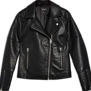 Faux leather jacket - NWT